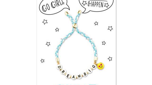 Dream big emoji bracelet