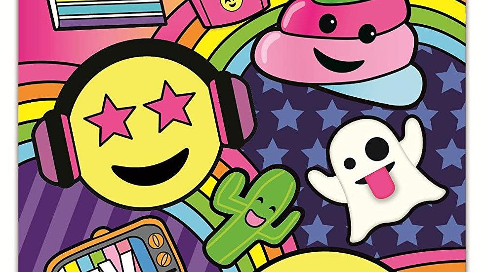 Emoji part vinyl decal- large