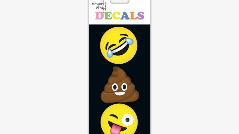 Emojis vinyl decals- small