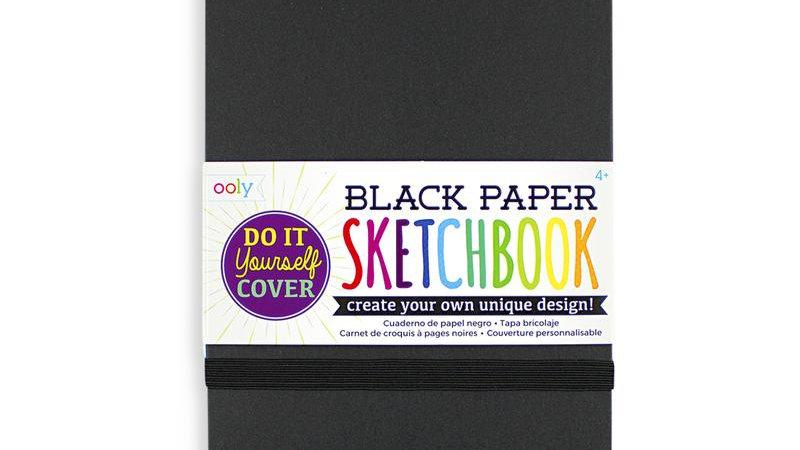 Black sketchbook- small
