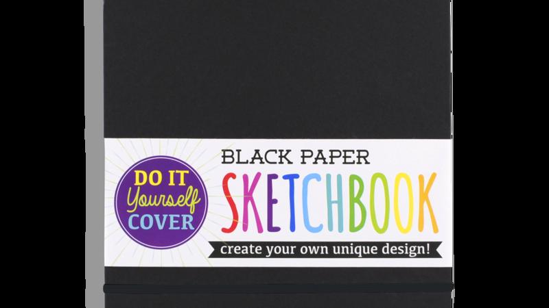 Black sketchbook- large