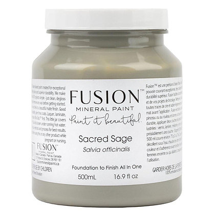 Fusion mineral paint Sacred Sage 500ml, 37ml