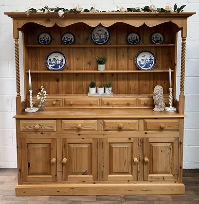 Custom/bespoke painted, order in any colour large Farmhouse Welsh dresser