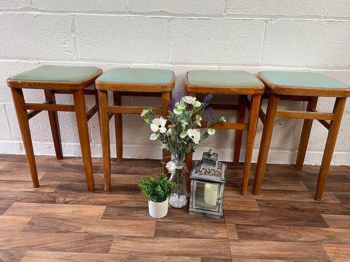 X4 vintage stools