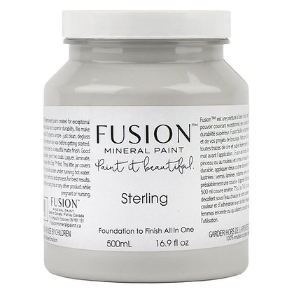 Fusion mineral paint Sterling 500ml, 37ml
