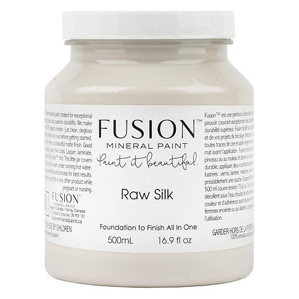 Fusion mineral paint Raw Silk 500ml, 37ml