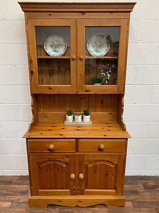 Solid pine Welsh Dresser custom hand painted to order