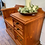 Thumbnail: Custom painted to order, colour of your choice solid pine telephone seat/table