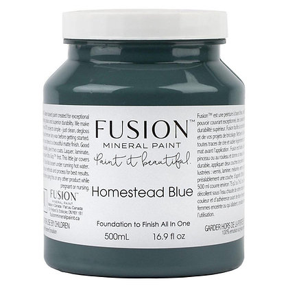 Fusion mineral paint Homestead Blue 500ml, 37ml
