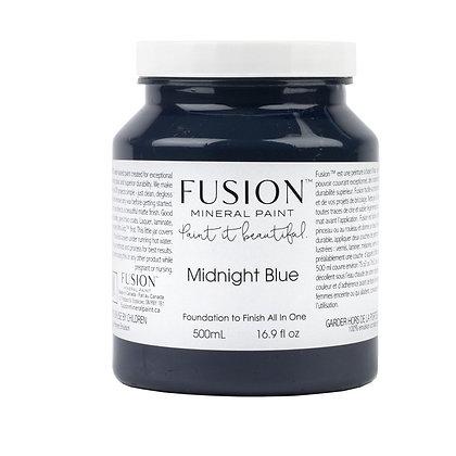 Fusion mineral paint Midnight Blue 500ml, 37ml