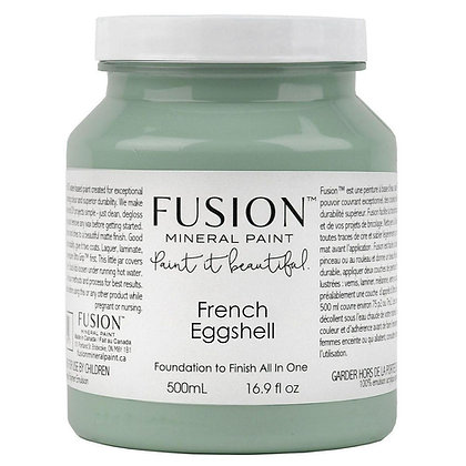 Fusion mineral furniture paint French Eggshell  500ml, 37ml