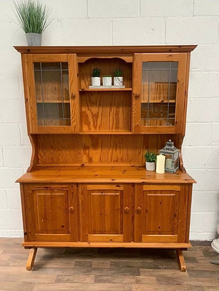 Custom/bespoke hand painted to order in any colour solid pine Welsh Dresser