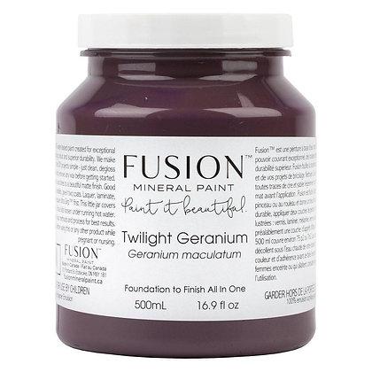 Fusion mineral paint Twilight Geranium 500ml, 37ml