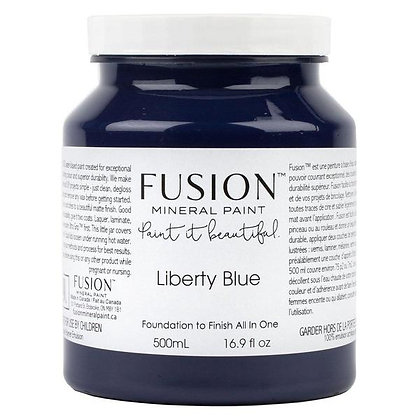 Fusion mineral paint Liberty Blue 500ml, 37ml