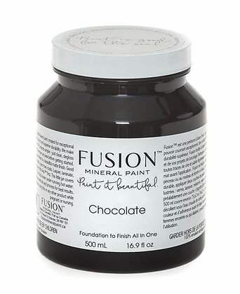 Fusion mineral paint Chocolate 500ml, 37ml