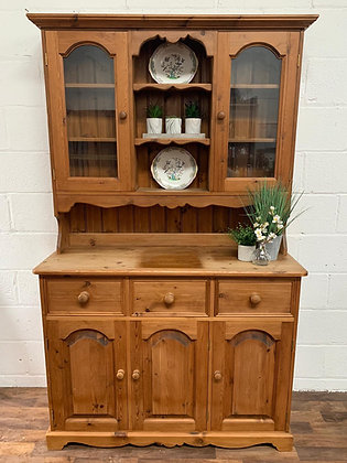 Solid pine Welsh Dresser custom hand painted to order in a colour of your choice