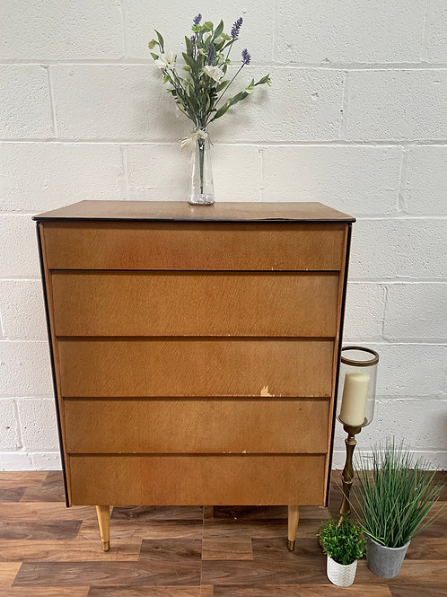 Retro vintage chest of drawers project