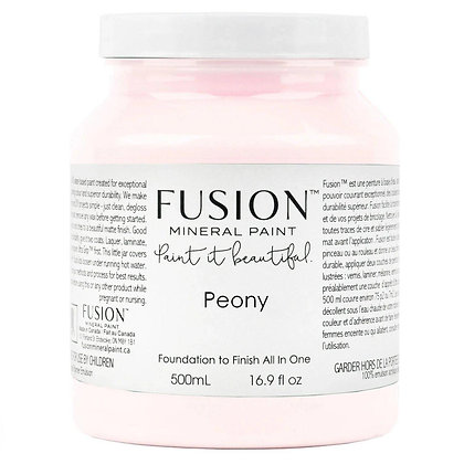 Fusion mineral furniture paint Peony 500ml, 37ml