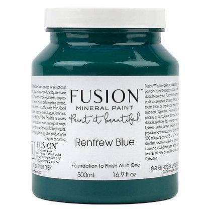 Fusion mineral paint Renfrew Blue 500ml, 37ml