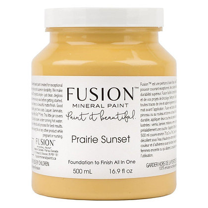 Fusion mineral paint Prairie Sunset 500ml, 37ml