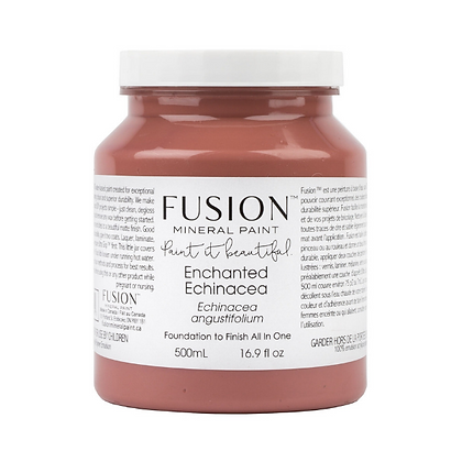 Fusion mineral paint Enchanted Echinacea 500ml, 37ml