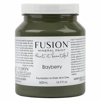 Fusion mineral paint Bayberry 500ml, 37ml
