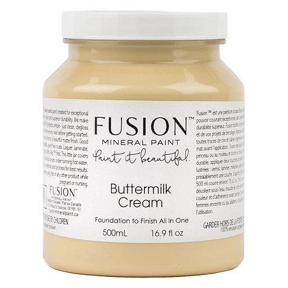 Fusion mineral paint Buttermilk Cream 500ml, 37ml