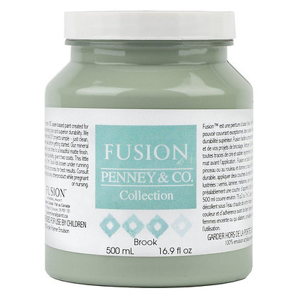 Fusion mineral paint Brook 500ml, 37ml