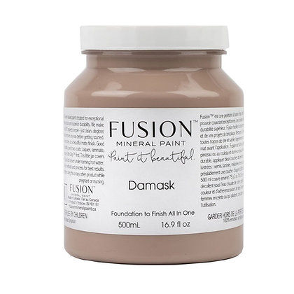 Fusion mineral paint Damask 500ml, 37ml