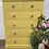 Thumbnail: Custom painted to order, colour of your choice bow front chest of drawers