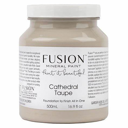 Fusion mineral paint Cathedral Taupe 500ml, 37ml