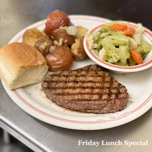 Steak Special every Friday
