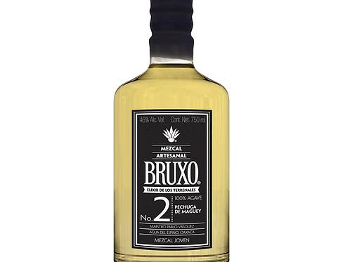 Mezcal Bruxo 2 Artesanal 700 ml. BRUXO