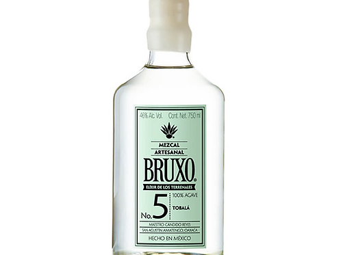 Mezcal Bruxo 5 Artesanal 700 ml. BRUXO