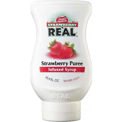 Sirope de Fresa 500 ml. REAL