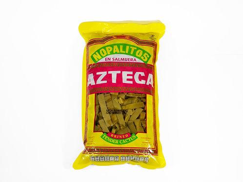 Nopales en cortados en Tiras 1 kgs. AZTECA