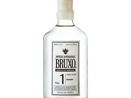 Mezcal Bruxo 1 Artesanal 700 ml. BRUXO