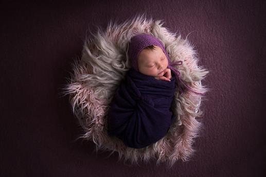 Newborn baby girl Photography Perth