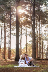 Pregnancy Photography Perth in forrest