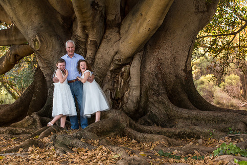 Grandpa and grandkids family Photography Perth