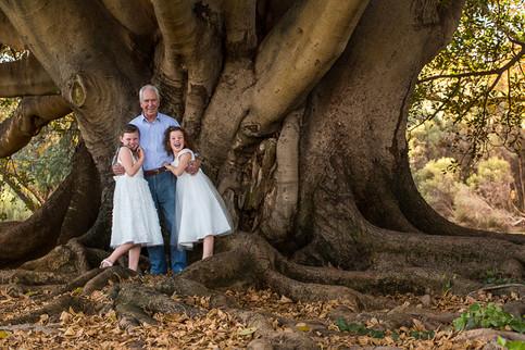 Grandpa and grandkids family Photography Perth