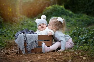 Baby sibling Photography Perth
