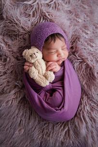Newborn girl Portrait shoot Perth