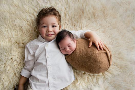 Sibling Newborn session Perth