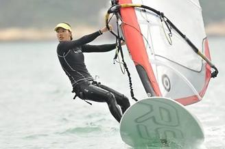 Windsurfing with HIWINDLOVER