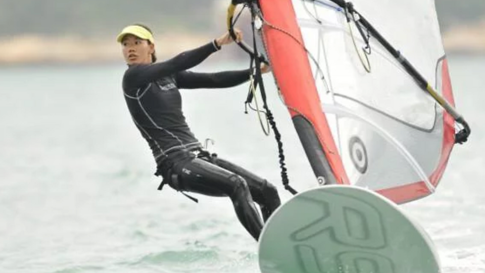 Windsurfing at Stanley