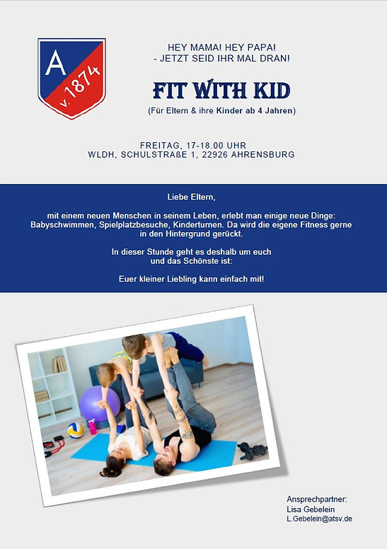 Fit with Kid - Sport mit Kind in Ahrensburg
