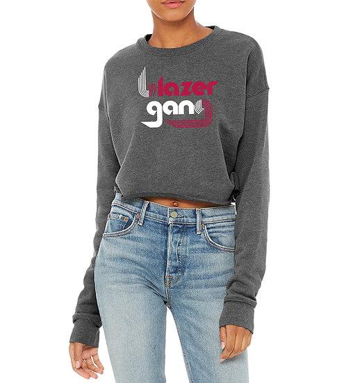 Laides BG Pinwheel Crop Top Sweatshirt