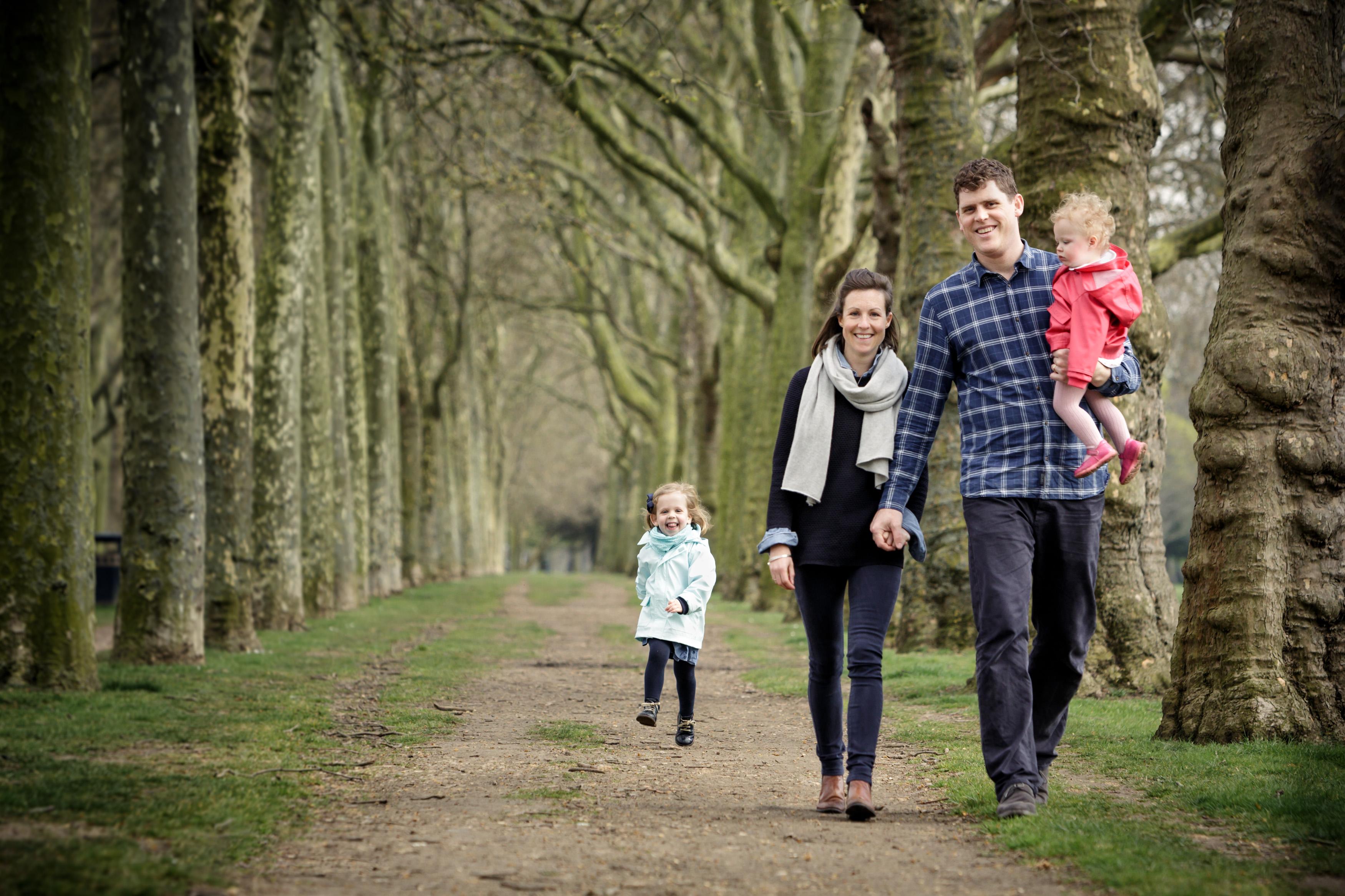 Family photo shoot, Victoria Park