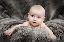 Home baby photo sessions